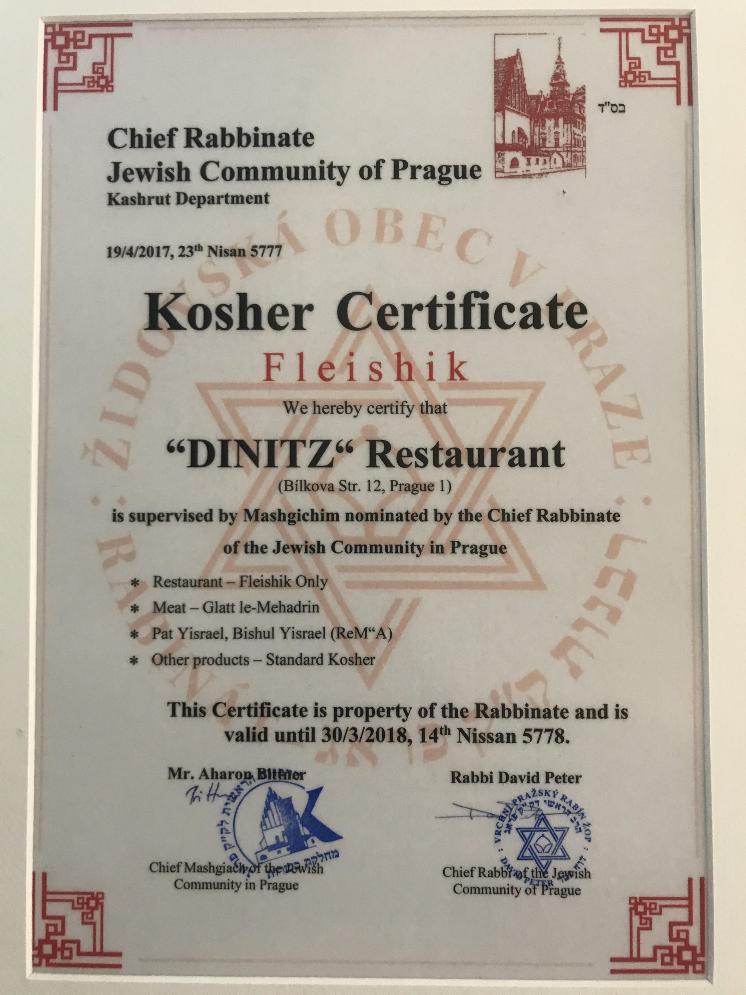 Kosher v Praze